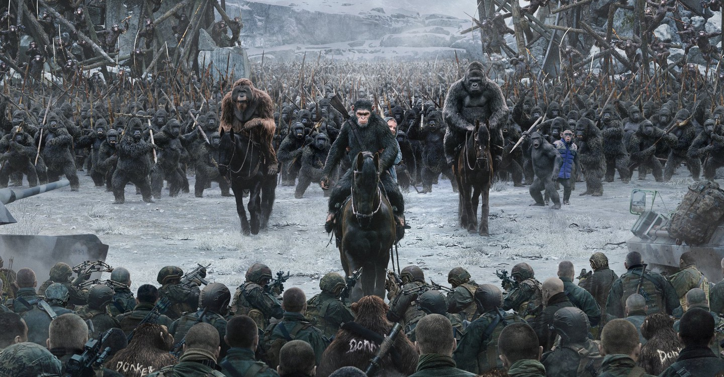 War for the Planet of the Apes backdrop 1