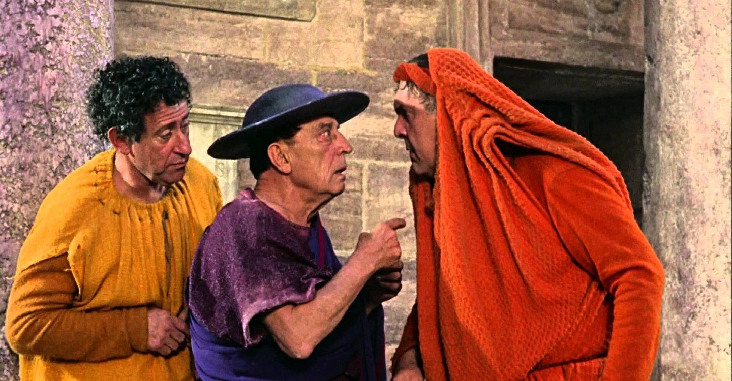 A Funny Thing Happened on the Way to the Forum backdrop 1