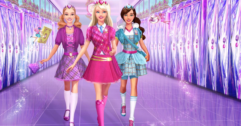 Resultado de imagem para barbie princess charm school