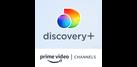 Discovery+ Amazon Channel platform logo