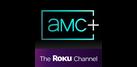 AMC+ Roku Premium Channel platform logo