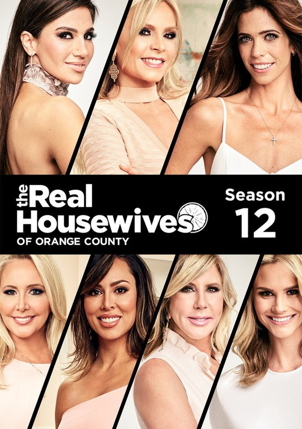 The Real Housewives of Orange County Season 12 poster