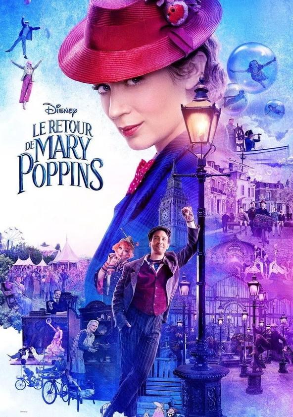Le Retour de Mary Poppins poster