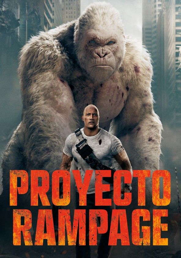 Proyecto Rampage poster