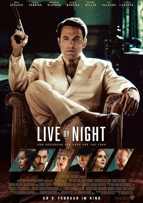 Live by Night poster