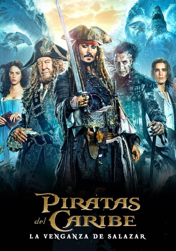 Piratas del Caribe: La venganza de Salazar poster