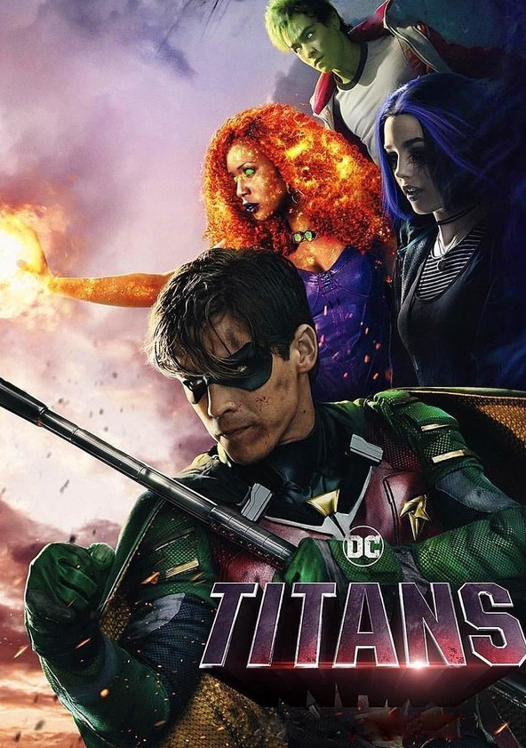 Titanes poster