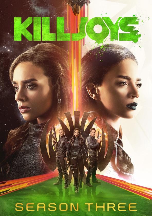 Killjoys Season 3 poster