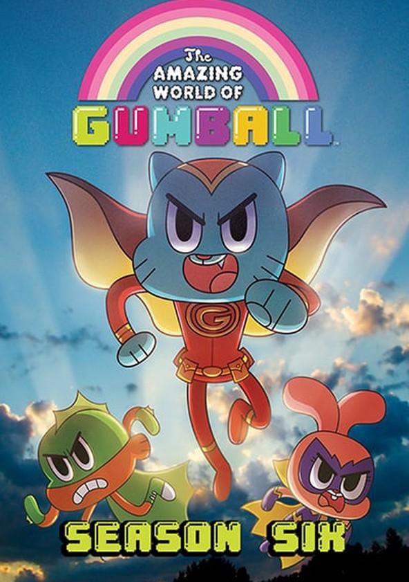 The Amazing World of Gumball Season 6 poster