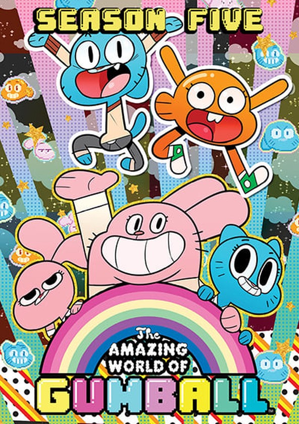 The Amazing World of Gumball Season 5 poster