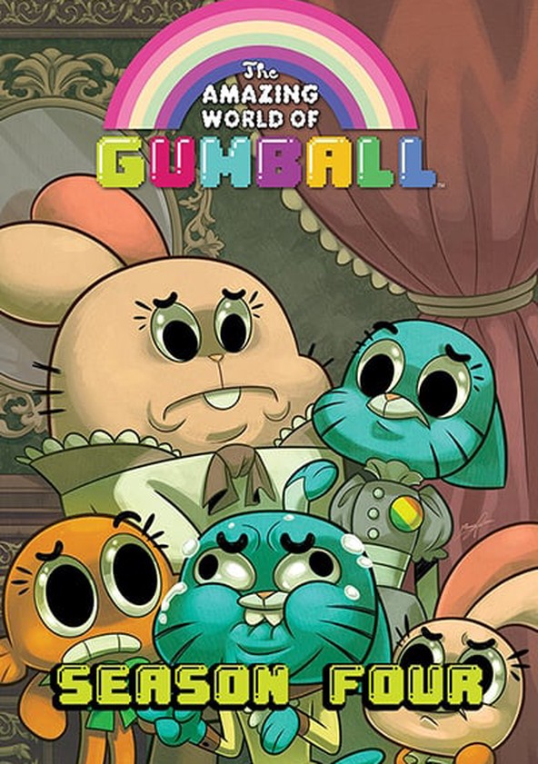 The Amazing World of Gumball Season 4 poster