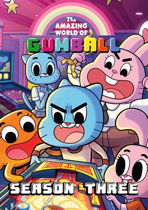 The Amazing World of Gumball Season 3 poster