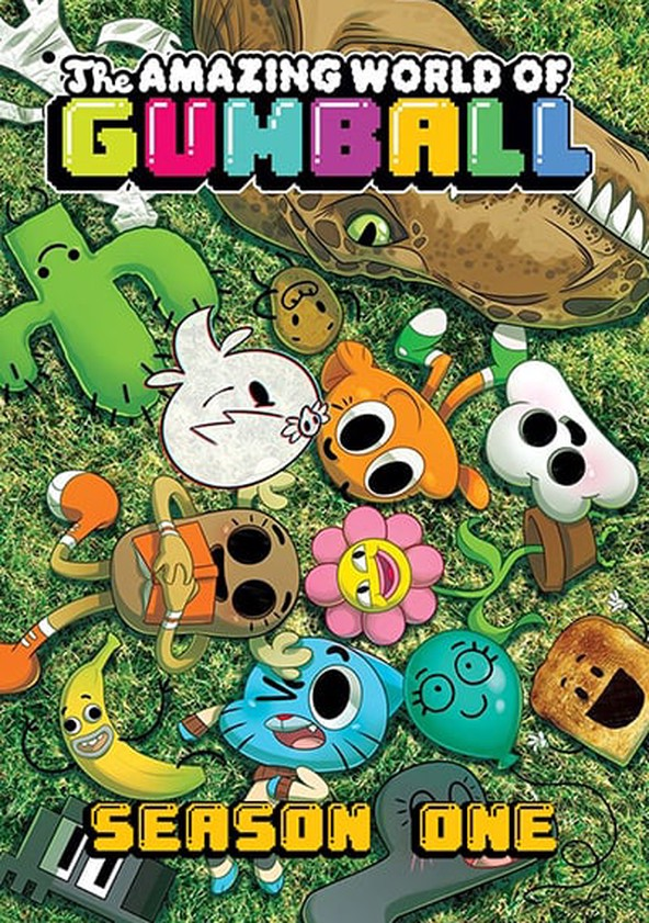 The Amazing World of Gumball Season 1 poster