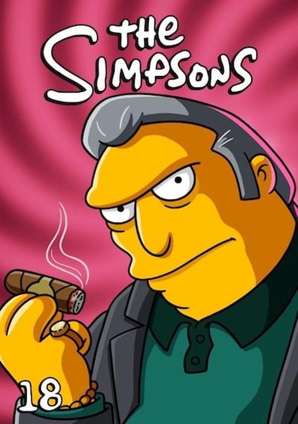 The Simpsons Season 18 poster