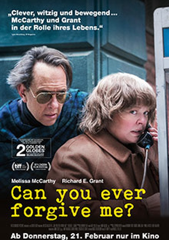 Can You Ever Forgive Me? poster
