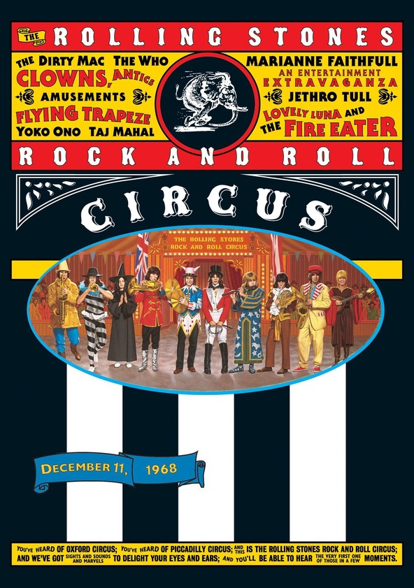 The Rolling Stones Rock and Roll Circus poster