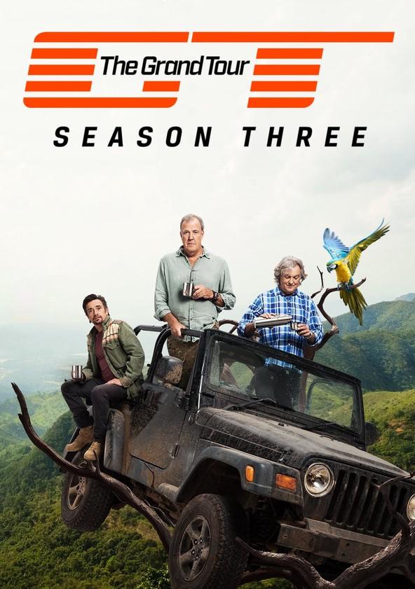 El Gran Tour Temporada 3 poster