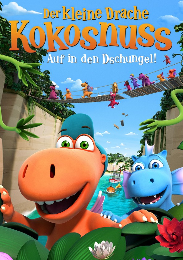 Der kleine Drache Kokosnuss 2 - Auf in den Dschungel! poster