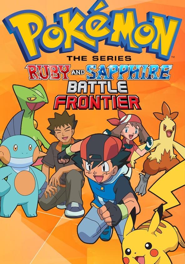 Pokémon Battle Frontier poster