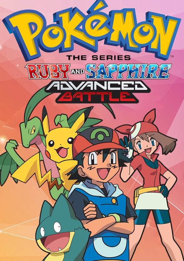 Pokémon Advanced Battle poster