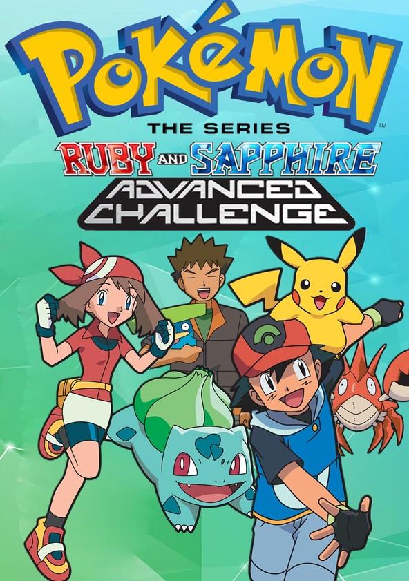 Pokémon Advanced Challenge poster