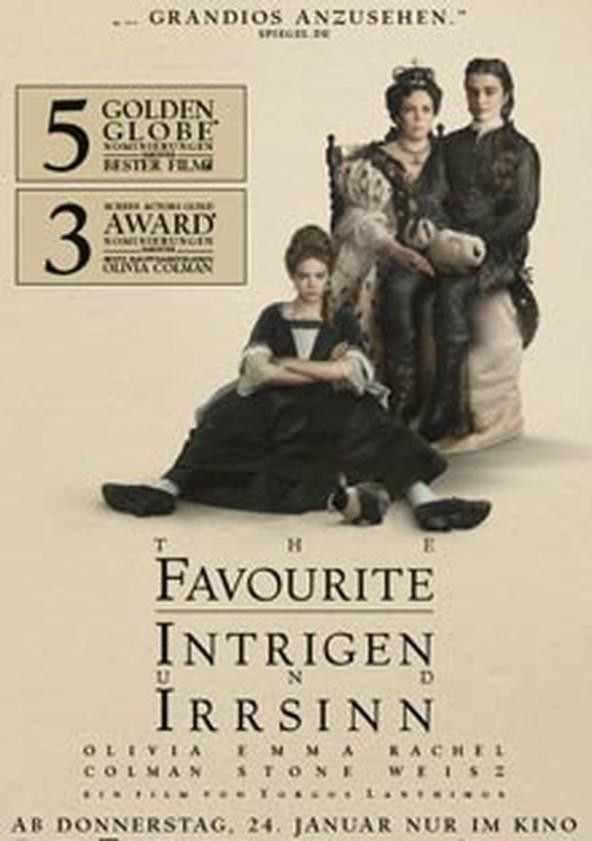 The Favourite – Intrigen und Irrsinn poster