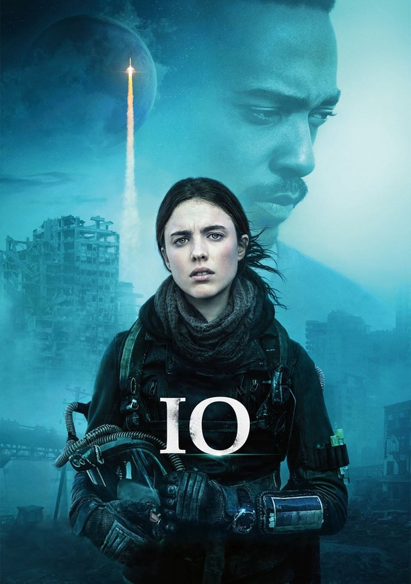 IO: Sola en la Tierra poster