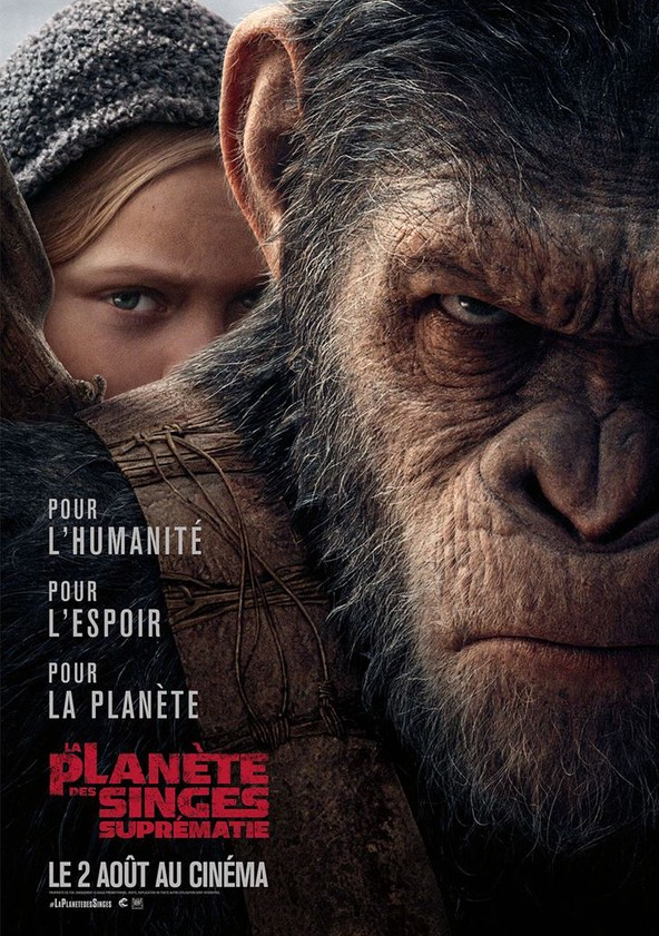 La Planète des singes : Suprématie poster