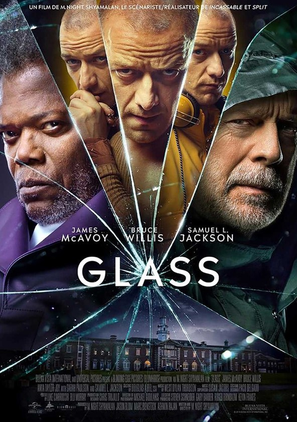 Glass poster