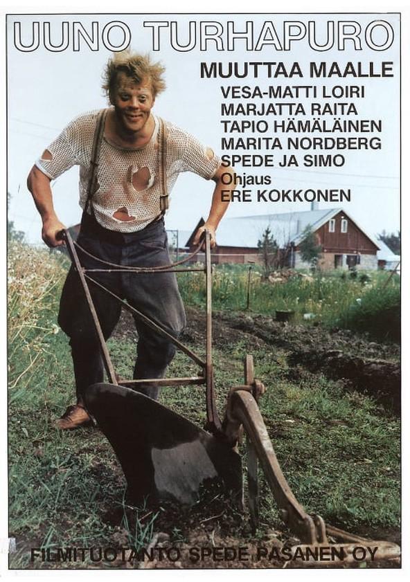 Uuno Turhapuro muuttaa maalle poster