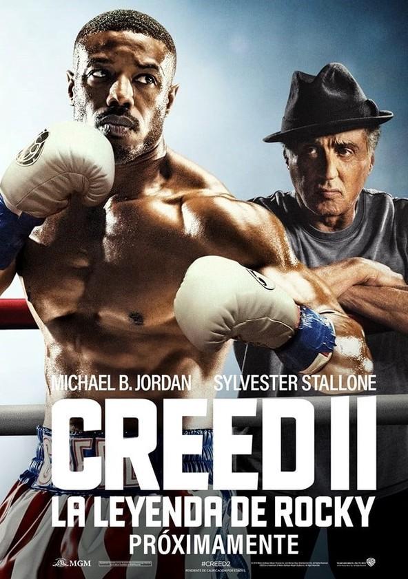 Creed II: La leyenda de Rocky poster