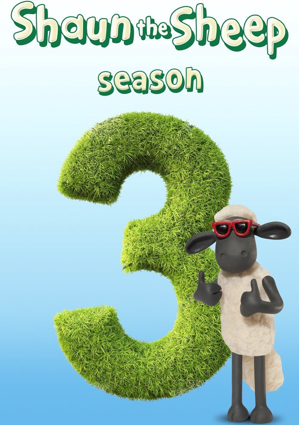 Shaun the Sheep Season 3 poster