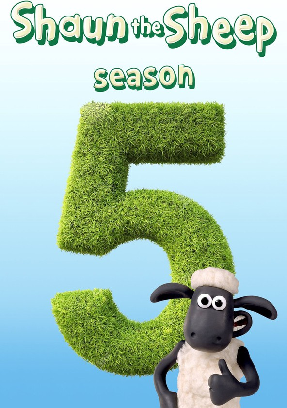 Shaun the Sheep Season 5 poster