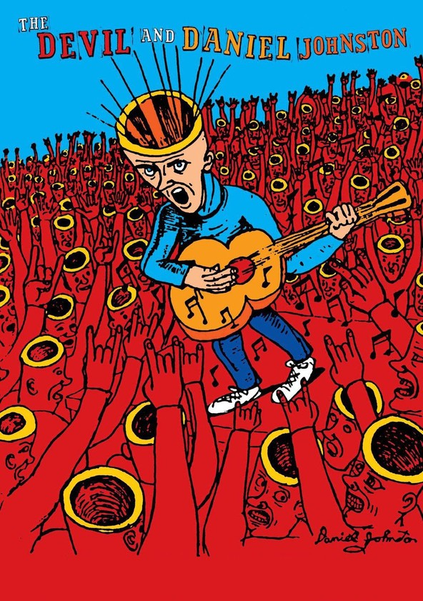 The Devil and Daniel Johnston poster