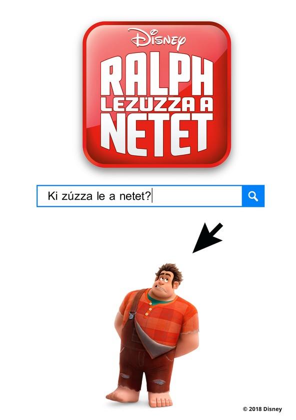 Ralph lezúzza a netet