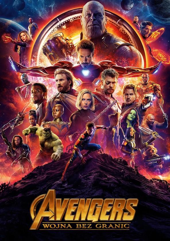 Avengers: Wojna bez granic poster