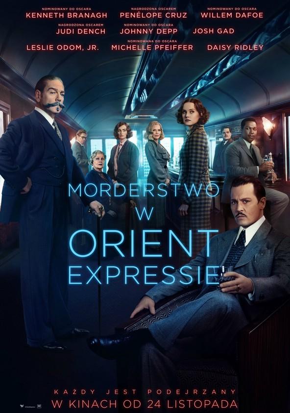Morderstwo w Orient Expressie poster