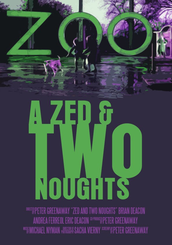A Zed & Two Noughts poster