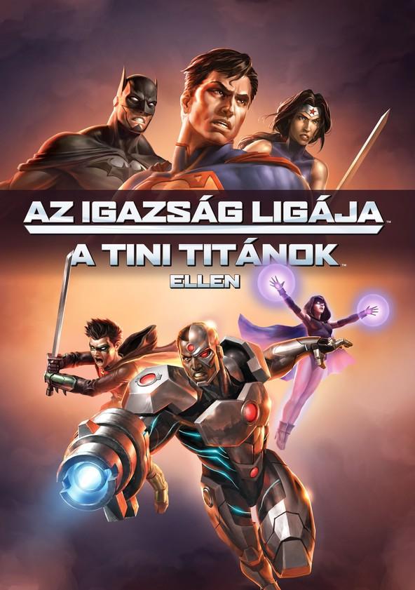 Az Igazság Ligája a Tini Titánok ellen