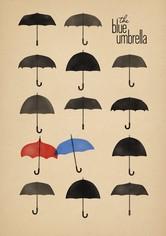 Modrý deštník