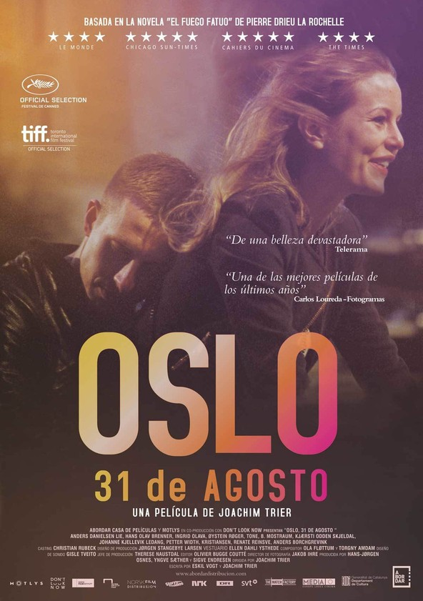 Oslo, 31 de agosto