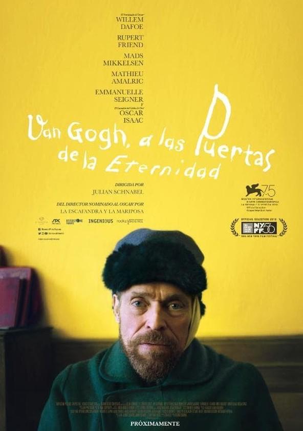 Van Gogh, a las puertas de la eternidad poster