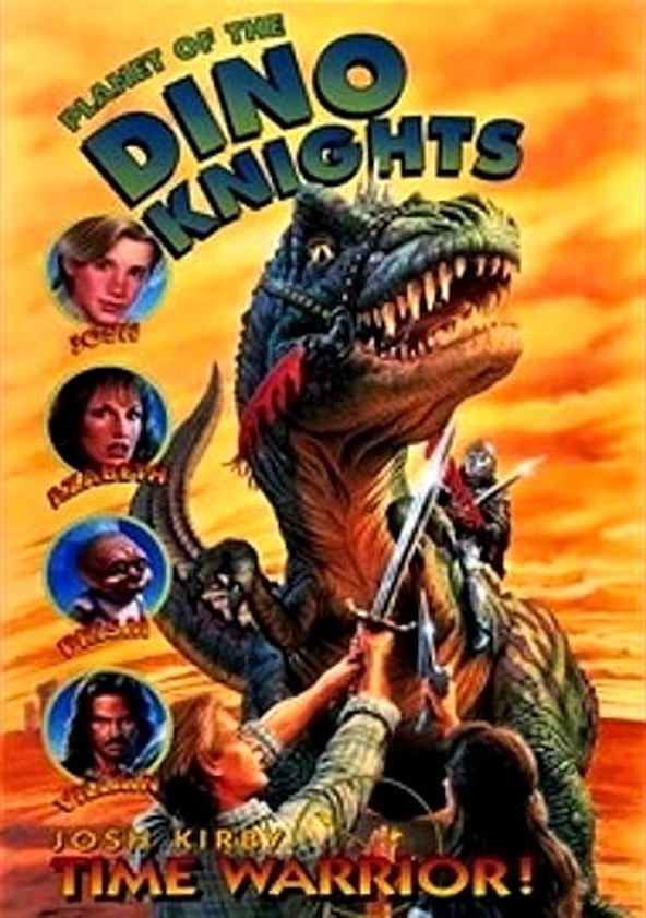 Josh Kirby... Time Warrior: Planet of the Dino-Knights poster