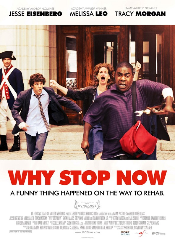 Why Stop Now?