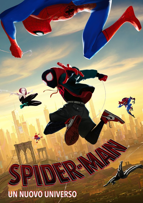 Spider-Man: Un nuovo universo poster