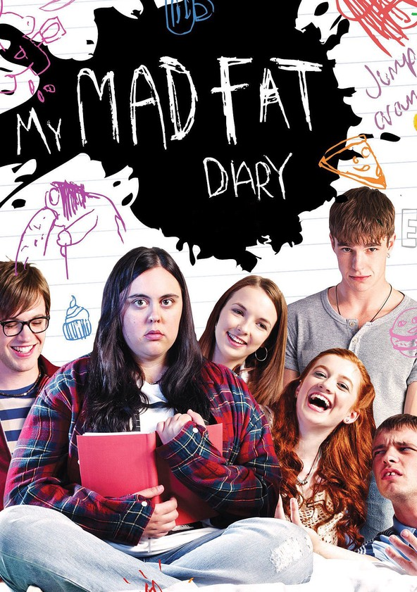 My Mad Fat Diary Season 2 poster