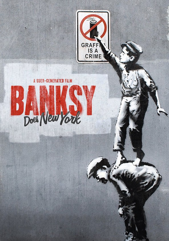 Banksy Does New York poster