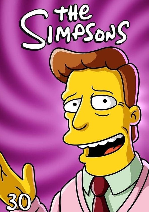 The Simpsons Season 30 poster