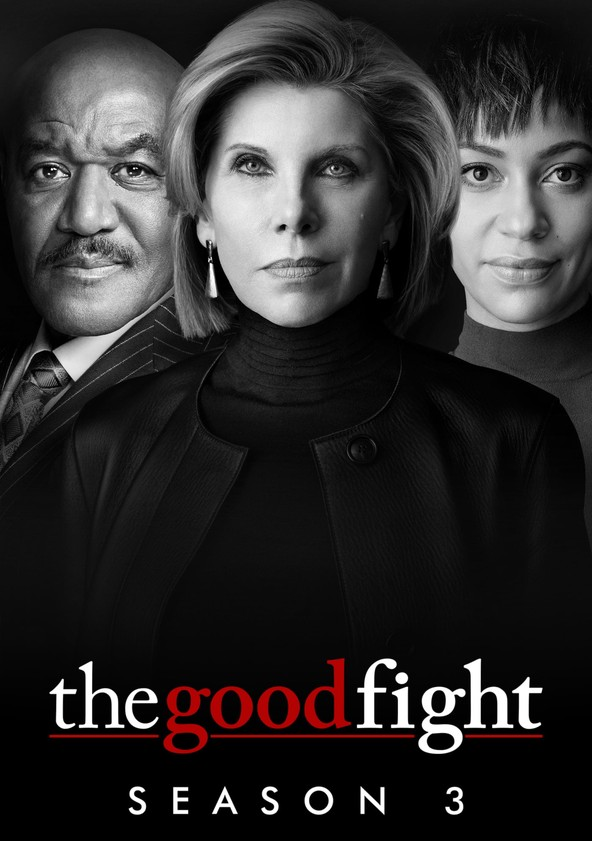 The Good Fight Temporada 3 poster