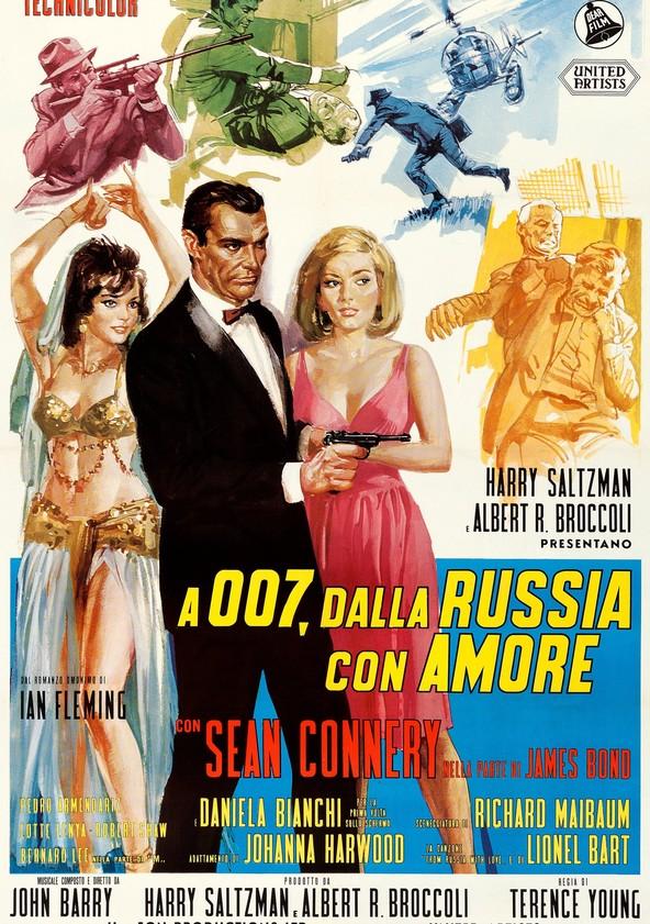 A 007, dalla Russia con amore